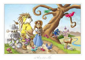 The Wizard of Oz by scoundreldaze