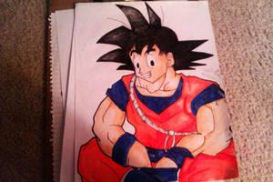 Goku by gokufangirl