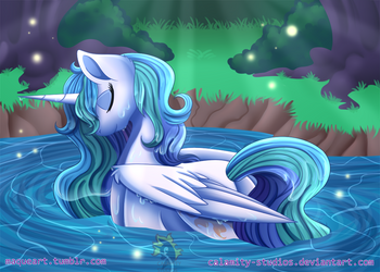 Bath Time by Calamity-Studios