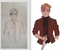 WIP - oh Sangwoo - killing stalking by Small-Bean
