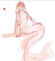 wip - mermaid by Small-Bean