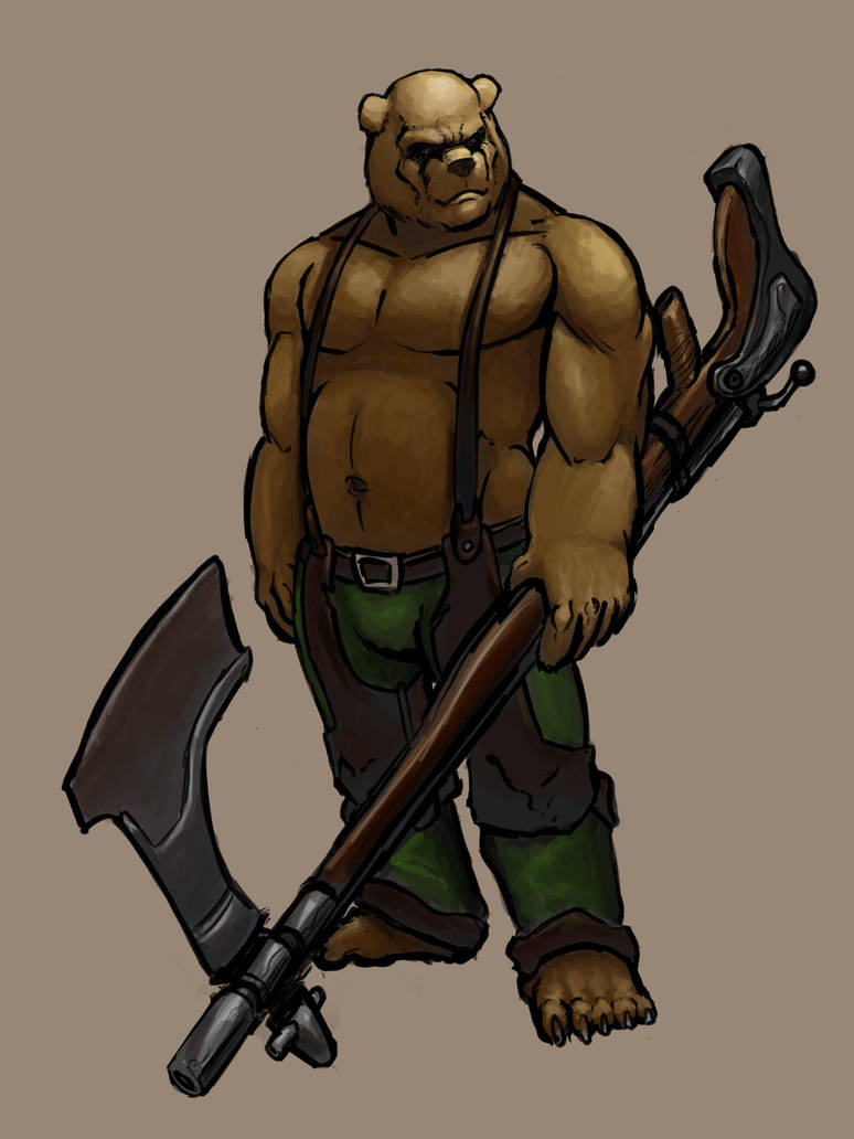 Bear Anthro Concept By Gryphyn7 On Deviantart