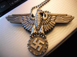 Nazi Knife Necklace by xTeknoWolfx