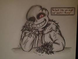 Horrortale - Sans by AlwaysThinkingInsane