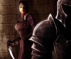 Dark Brotherhood assassin by tetsuok9999