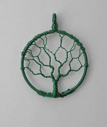 Tree of Life Pendant (Practice) by BrinkisBrinkis