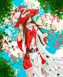 Akari in the wind~ by YuKirro