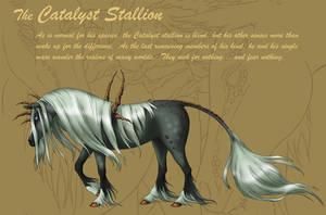 The Catalyst Stallion by shayhalen