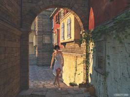 Evening Stroll by thd777