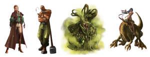 Characters by ilkerserdar