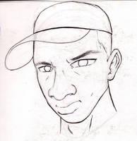 self sketch 2 by vannickArtz