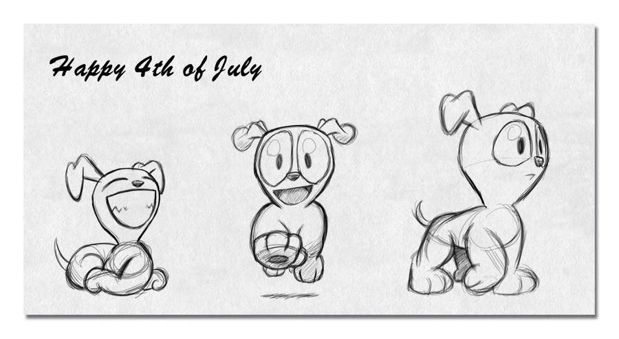 BBC - Happy July 4th by vannickArtz