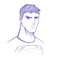 Superboy sketch by vannickArtz