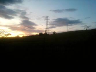 Five Pits Sunset by LordPhoenixCrow
