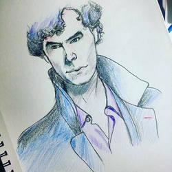 Sherlock Holmes by RainbowLock