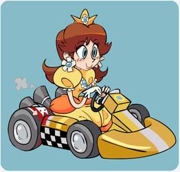 Mario Kart - Daisy by vern-argh