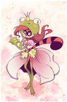 Frog Raccoon Shoujo Strawberry by vern-argh