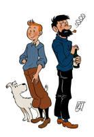 Tintin by vern-argh