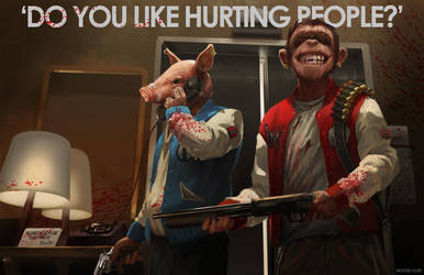 Do You Like Hurting People? by WouterGort