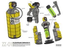 ZZ Grenade 01 by WouterGort