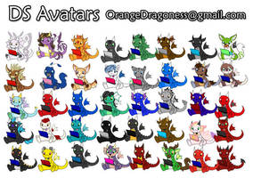 Xmas Avatar Gifts by LilOrangeDragoness
