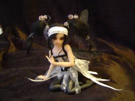Gothic Ballerina Faerie by LindaJaneThomas