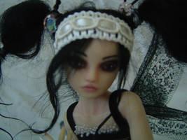 Goth Fae OOAK Tattered Fairies by LindaJaneThomas