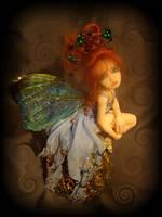 Blue Morpho Butterfly FAE by LindaJaneThomas