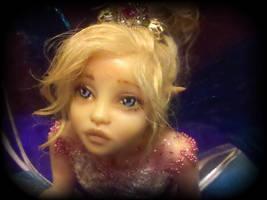 Reese Ooak Fairy Sculpture 1 by LindaJaneThomas