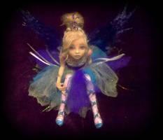 Reese Ooak Fairy Sculpture 2 by LindaJaneThomas