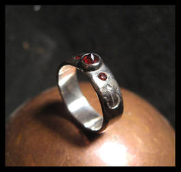 Deep Fire Ring by LaughingScarab