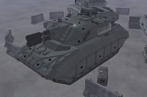 M-Tec T e iden SMBT Coaxial Smothbarrel Cannons by NikitaTarsov