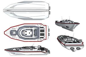 M-Tec Te iden Narda 80C Patrol Boat Technical by NikitaTarsov