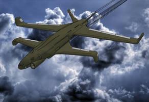 M-Tec Kambahr Debhin Albatros Passagiermaschine by NikitaTarsov