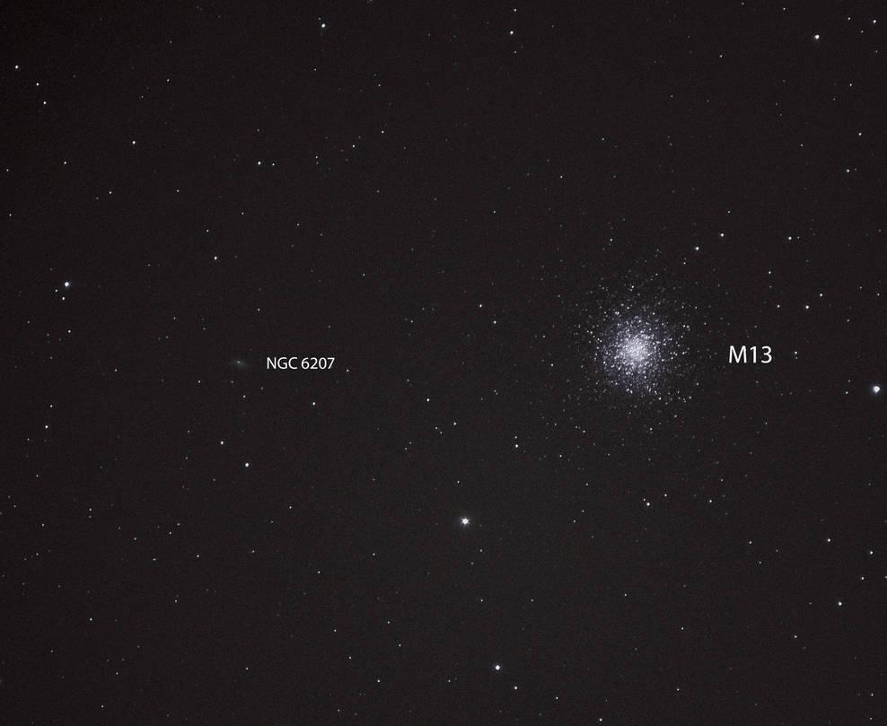 Globular cluster M13 by stormbaldur56