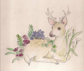 Deer by Viippu