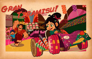 Gran Tiramisu! (Wreck-it Ralph) by DaveSong