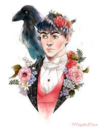 Raven Boy by CCCrystalClear