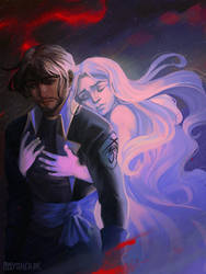 Kaladin and Syl by CCCrystalClear