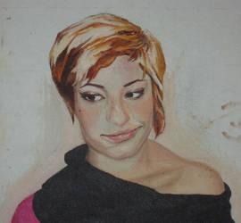 self portrait-$75 by wanabelefthanded