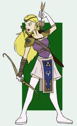 Zelda's Legend by kristaia