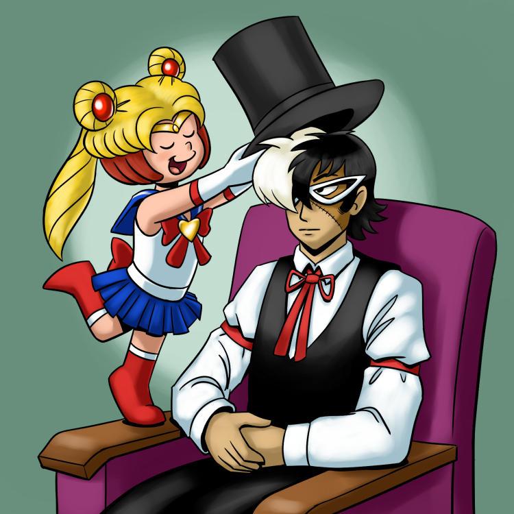 Black Jack and Pinoko by BahalaNa