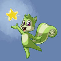 Birthday Squirrel by BahalaNa