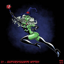 31 Witches -21 - Supervillain Witch by BahalaNa