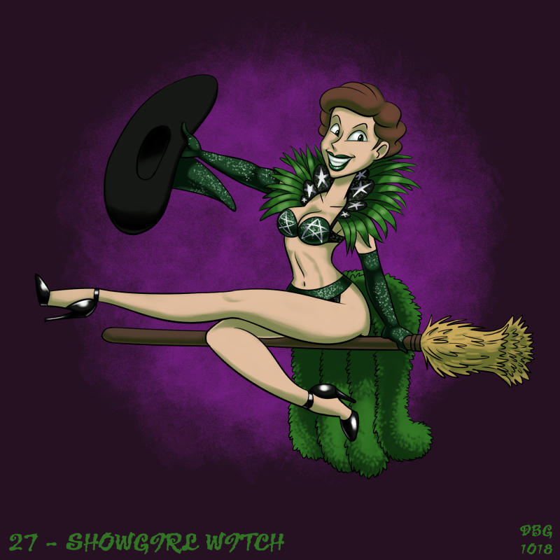 31 Witches - 27 - Showgirl Witch by BahalaNa