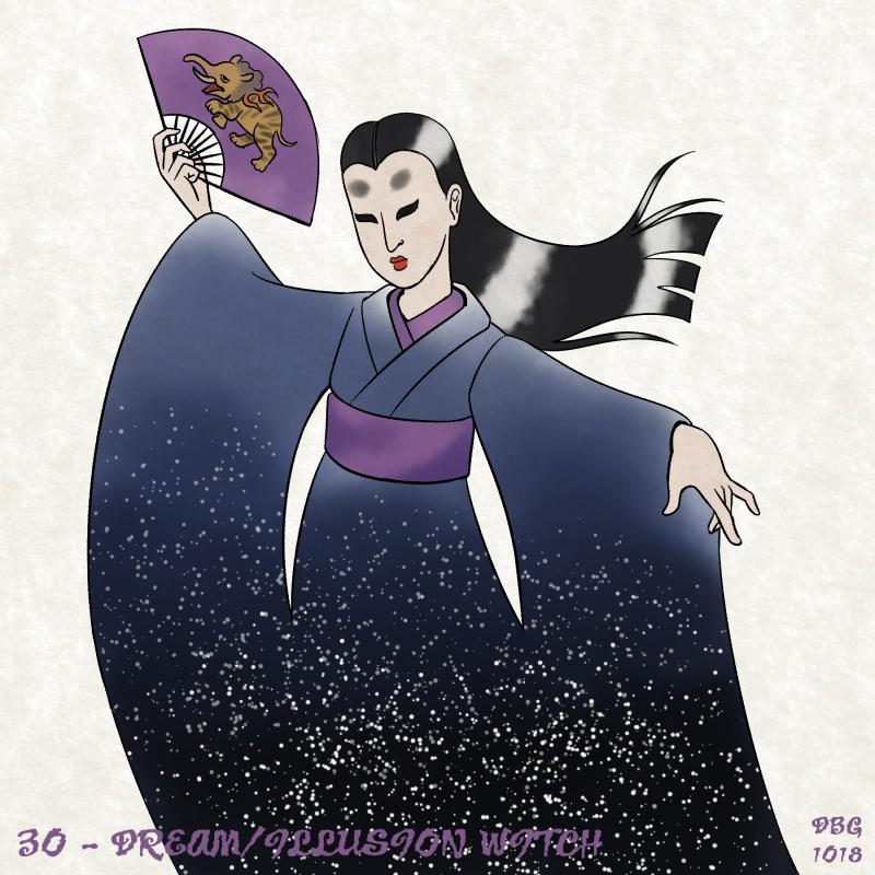 31 Witches - 30 - Dream/Illusion Witch by BahalaNa