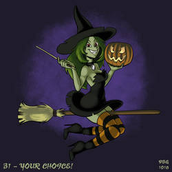 31 Witches - 31 - Your Choice! by BahalaNa