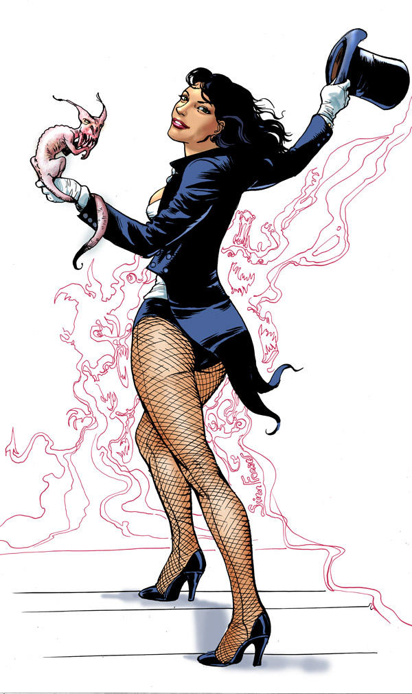 Zatanna by SimonFraser