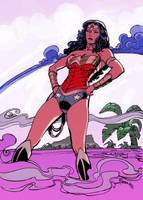 Wonder Woman by SimonFraser