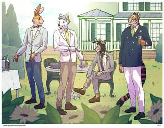 Garden Party by kangaroo-beer
